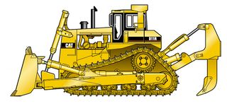 Caterpillar D11R {JPEG}